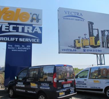 Vectra Eurolift Service - dealer exclusiv Yale in Romania